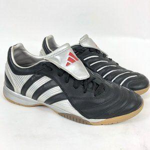Men's Black Adidas Indoor Soccer Shoes Adiprene